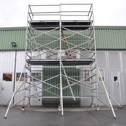 Fasadställning på hjul - 5 x 3,8 meter