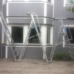 Trappstege, Zarges Zap - Tre olika storlekar