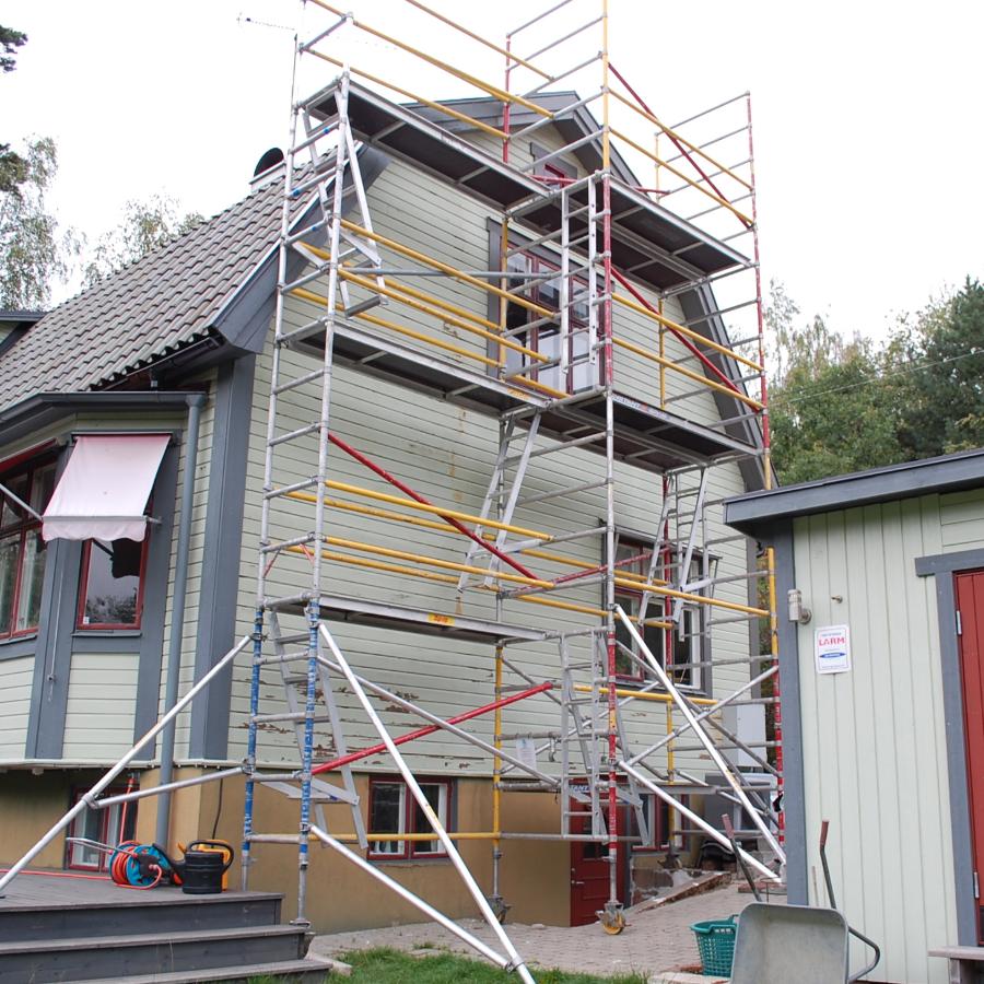 H9.se - Hyr byggställning i Stockholm