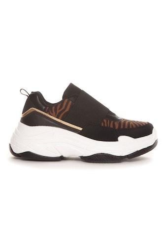 Missy Sneaker Black/Brown