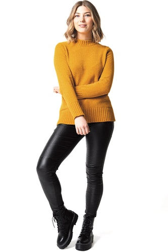 September Sweater Saffron