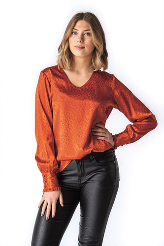 Sienna Blouse Tangerine