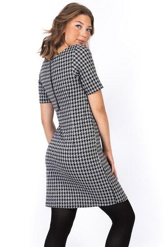 Peyton Dress Black/Creme