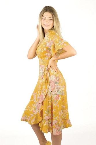 Liv Dress Sun Yellow/Rosebud
