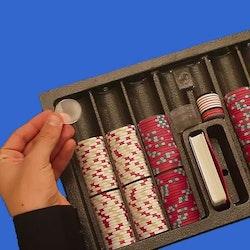 Pokermarker spacers 10 st.