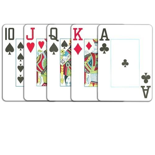 Copag pokerkort jumbo index 2-pack (bridge size) black and gold