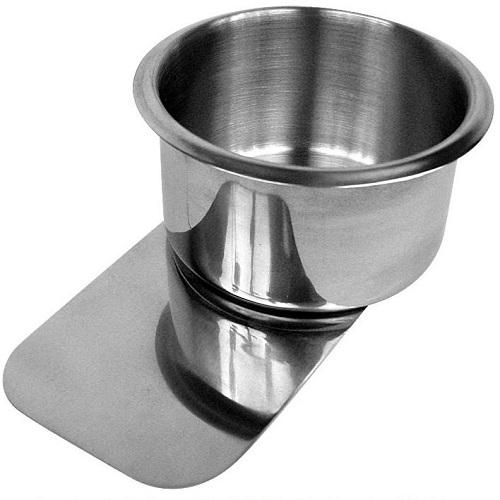 Jumbo kopphållare i stål med clip