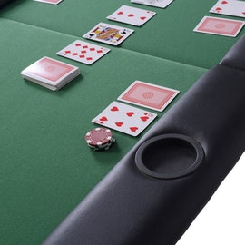Vikbart pokerbord