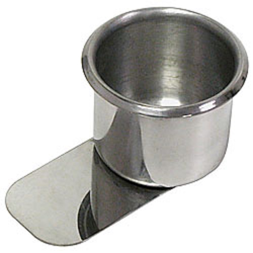 Kopphållare i stål med clip