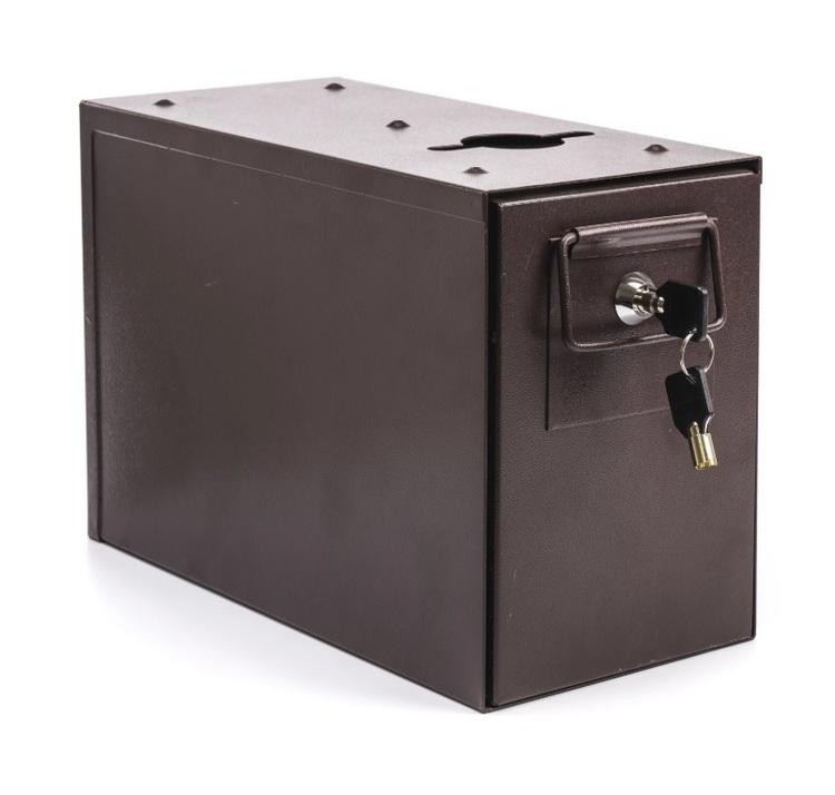 Drop box med stort hål