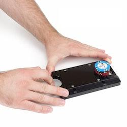 Rake slide till drop box med stort hål