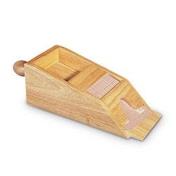 Dealershoe i trä upp till 4 däck