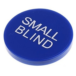 Small blind XL button