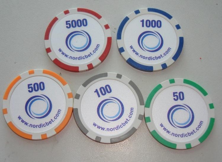 50000 st. logo pokermarker 11,5 g