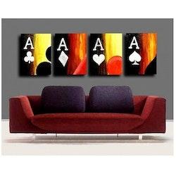Poker målning