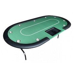 Dealer grön pokerbord