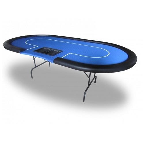 Pokerbord dealer blå