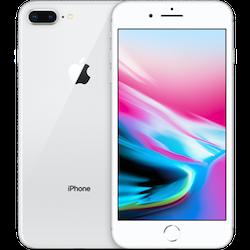 Kopia Begagnad Apple iPhone 8 Plus 64GB silver Bra skick
