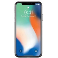 Begagnad Apple iPhone X 64GB silver bra skick