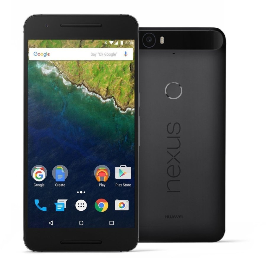 Begagnad Nexus 6P 32GB Svart Okej Skick