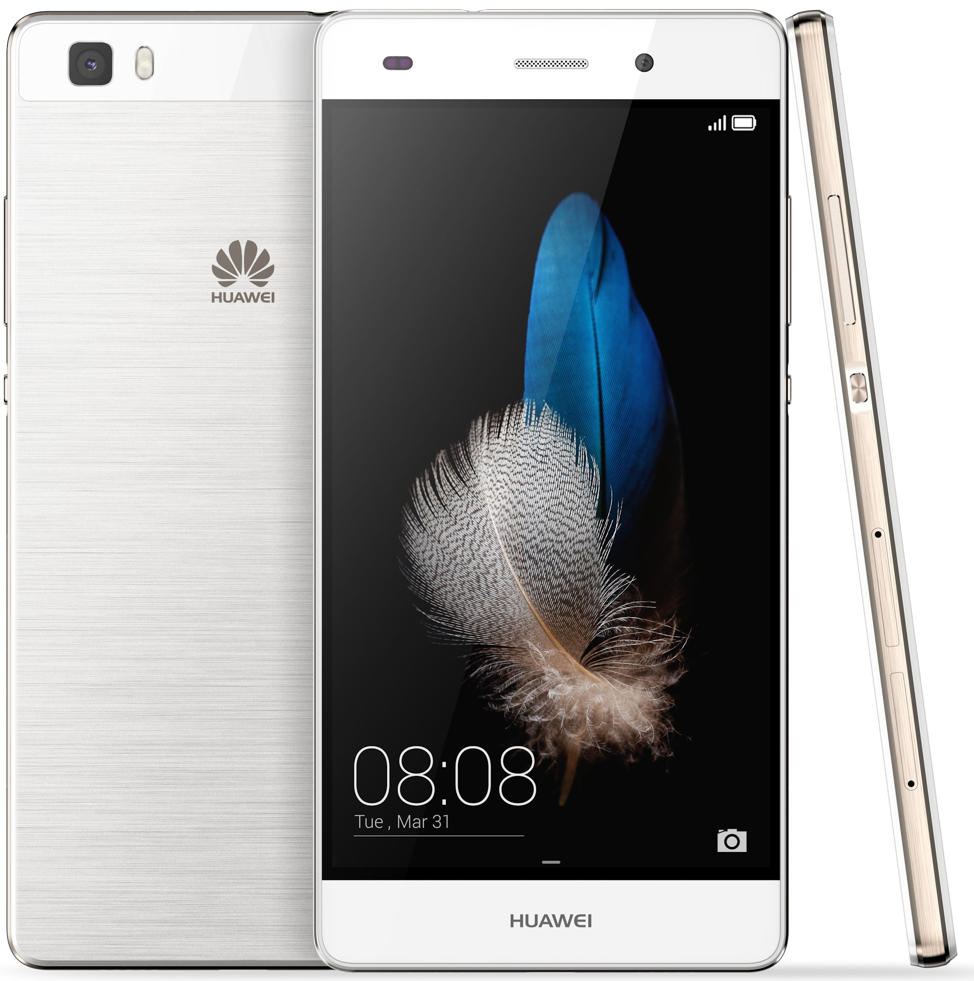 Begagnad Huawei P8 Lite Svart okej skick