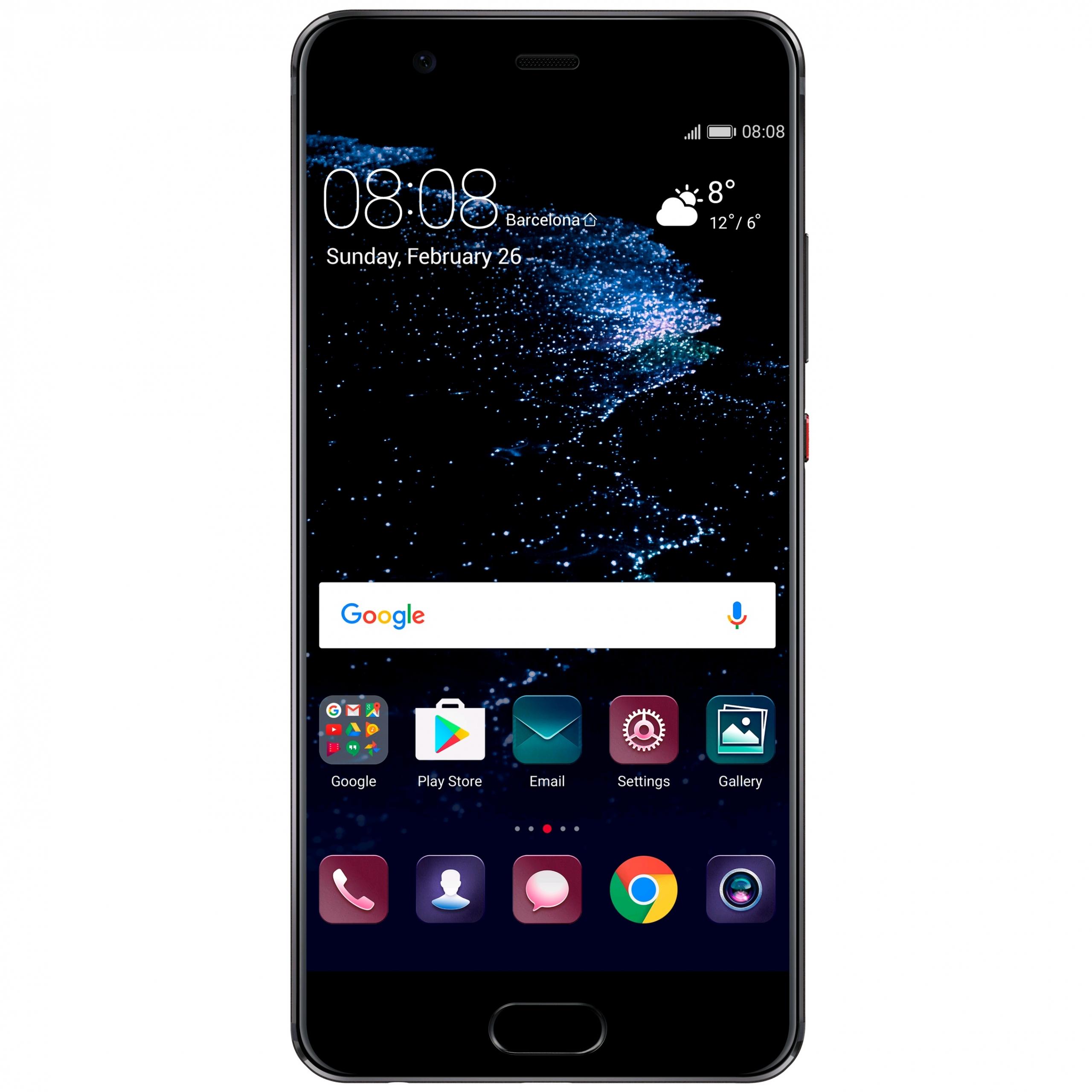 Begagnad Huawei P10 Svart Okej Skick