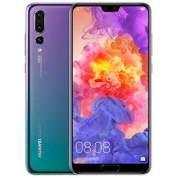 Begagnad Huawei P20 64GB Twilight Bra skick