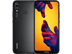 Begagnad Huawei P20 Lite 64GB Svart Bra skick
