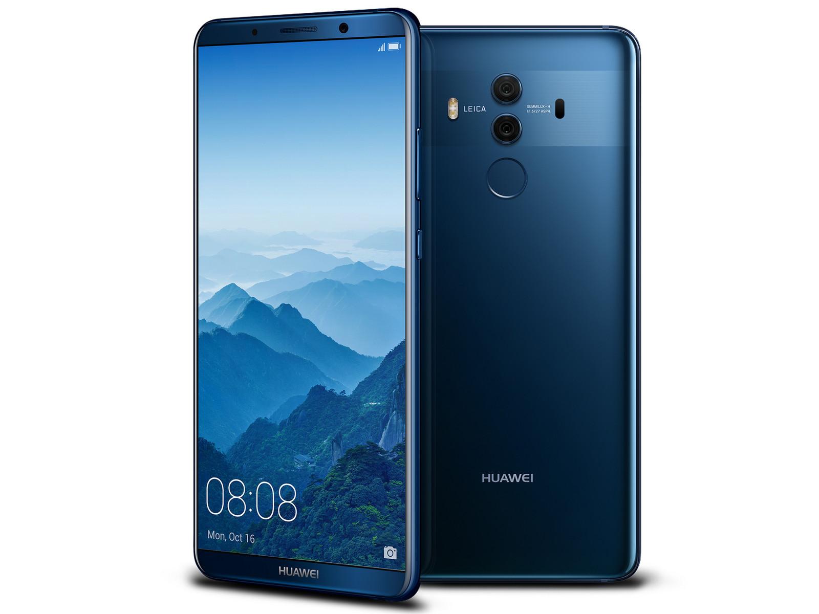 Begagnad Huawei Mate 10 Pro Svart Bra skick