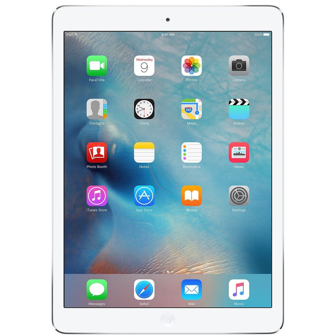 Begagnad Apple iPad Air (2013) 32GB Silver Bra skick