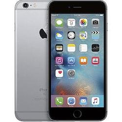 Begagnad Apple iPhone 6 128GB Svart Okej Skick