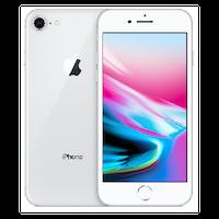 Begagnad Apple iPhone 8 64GB silver Okej Skick