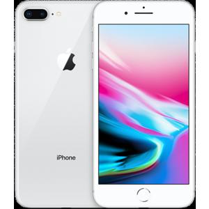 Begagnad Apple iPhone 8 Plus 64GB silver Okej Skick