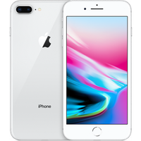 Begagnad Apple iPhone 8 Plus 64GB silver Okej Skick