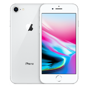 Begagnad Apple iPhone 8 64GB silver Bra skick