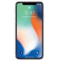 Begagnad Apple iPhone X 64GB svart Okej Skick
