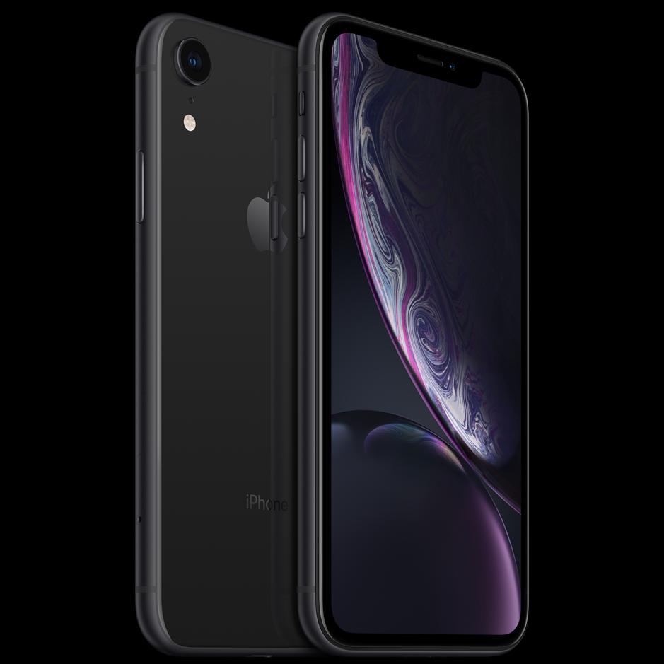 Begagnad Apple iPhone XR 64GB svart Bra skick