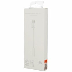 Huawei Adapter USB-C till Hörlursuttag (3.5 mm) Original - Vit