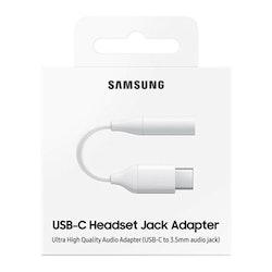 Samsung Hörlursadapter USB-C till 3.5 mm - Vit