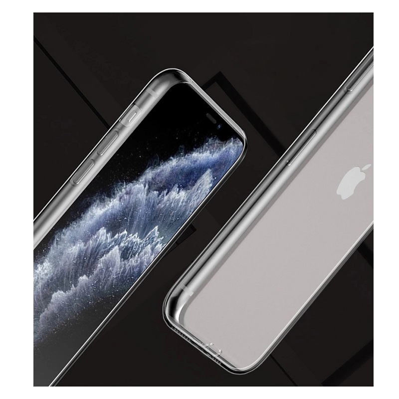 SiGN Ultra Slim Case för iPhone 7 & 8/SE 2 - Transparent