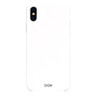 SiGN Liquid Silicone Case för iPhone XR - Vit