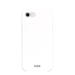 SiGN Liquid Silicone Case för iPhone 7 & 8/SE 2 - Vit
