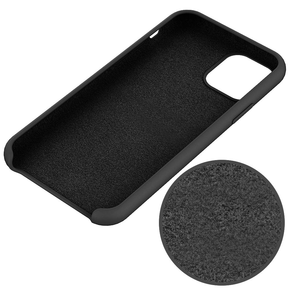 SiGN Liquid Silicone Case för iPhone XR - Svart