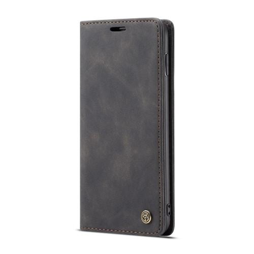 CASEME Plånboksfodral för Samsung Galax S10 - Svart