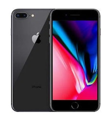 Begagnad Apple iPhone 8 Plus 64GB svart Bra skick