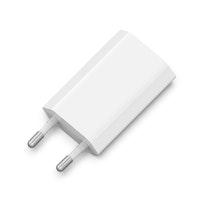 SiGN Väggladdare för iPhone, Android m.fl. 1A - Vit