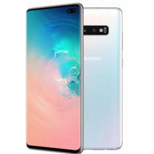 Begagnad Samsung Galaxy S10 Plus 128GB Arctic White Bra skick