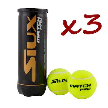 Siux Match Pro 3-pack