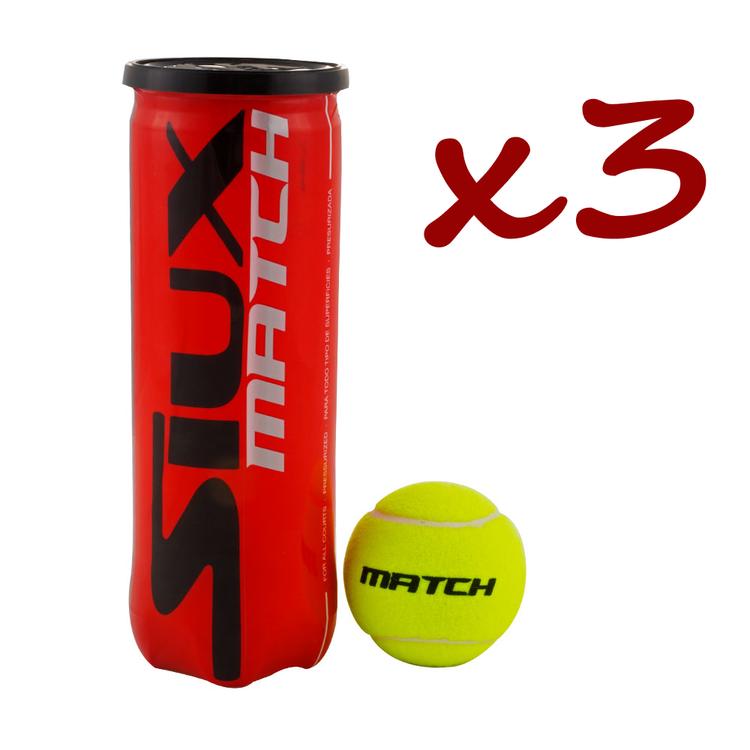Siux Match 3-pack