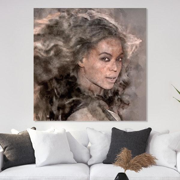 Pop Art Beyonce Canvas